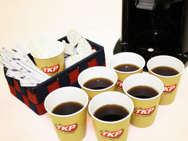 追加コーヒー・紅茶ハーフポット(紙コップ約6人分)