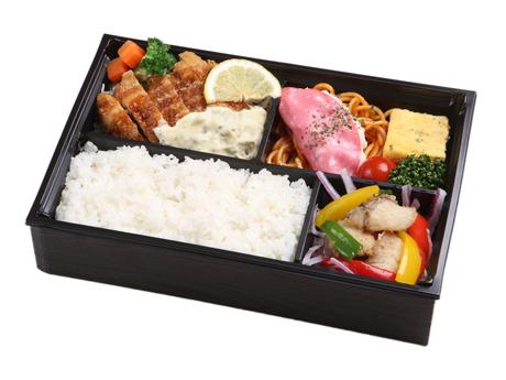 北海道桜姫鶏カツ弁当(お茶付)