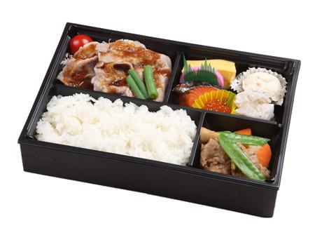 北海道三元豚生姜焼き弁当(お茶付)