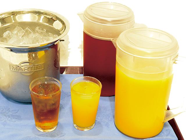 ウーロン茶/オレンジジュースポット