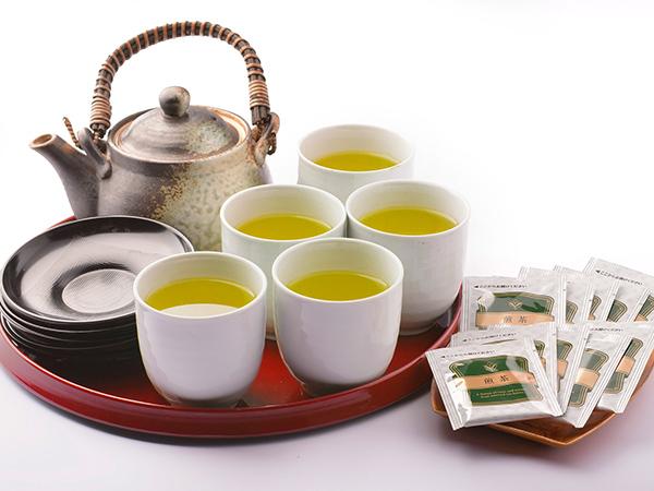 茶器セット(湯のみ10個・お湯ポット付き)